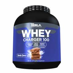 Tesla Whey Charger 100 Protein,  2270gr