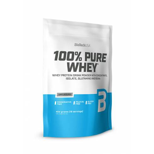 100% Pure Whey - 454gr unflavoured